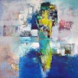 Arielle • Acryl auf Leinwand • 80 x 80 cm • 2008