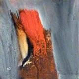 Red Trunk • Acryl auf Leinwand • 40 x 40 cm • 2008