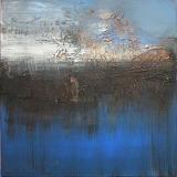 Little Blue II • Acryl auf Leinwand • 40 x 40 cm • 2010