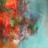 Colours Of Cyprus • Acryl auf Leinwand • 40 x 40 cm • 2011