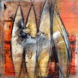 Gerüchteküche • Acryl auf Leinwand • 40 x 40 cm • 2013
