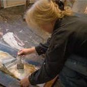 Brigitte Spanblöchel-Glass • Wien • Malerin und Zeichnerin • Bilder, Gemälde, Zeichnungen, Projekte • Acryl und Öl auf Leinwand, Stift, Kohle und Kreide auf Papier