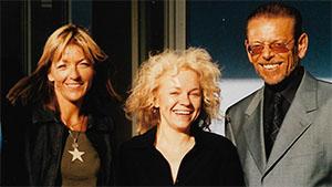 Eva-Maria Indrak, Brigitte Spanblöchel-Glass und Franz-Karl Effenberg
