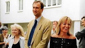 Eva-Maria Indrak, Brigitte Spanblöchel-Glass und Andreas Mailath-Pokorny